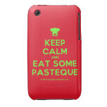 [Chef hat] keep calm and eat some pasteque  iPhone 3G/3GS Cases iPhone 3 Cases
