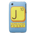 J JENNIFER'S PHONE  iPhone 3G/3GS Cases iPhone 3 Covers