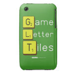 Game Letter Tiles  iPhone 3G/3GS Cases iPhone 3 Covers