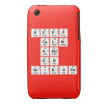KEEP CALM AND DO SCIENCE  iPhone 3G/3GS Cases iPhone 3 Covers
