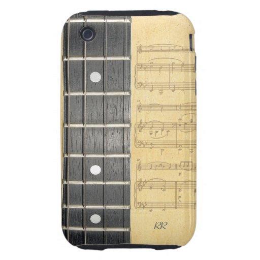 iPhone 3G/3GS de la partitura de Fretboard del iPhone 3 Tough Protector