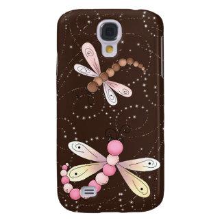 iPhone 3G/3GS del brillo de la libélula Funda Para Galaxy S4