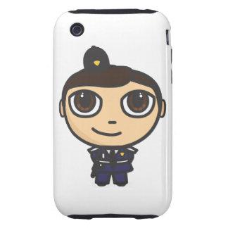 iPhone 3G/3GS del policía del carácter duro Funda Though Para iPhone 3