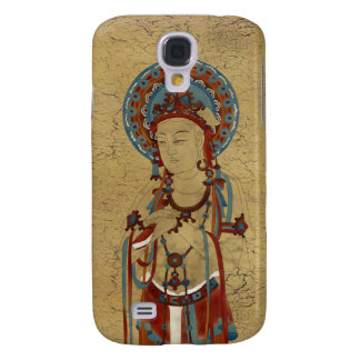 iPhone 3G/3GS - Scripture Buddha Crackle Backgr Galaxy S4 Cover