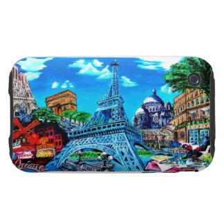 iphone 3G/3Gs Tough Paris mobile phone cover Tough iPhone 3 Cases