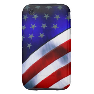 iphone 3G/3GS Tough Universal Case w/ American fla Tough iPhone 3 Covers