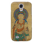 iPhone 3G/3GS - Vitarka Mudra Buddha Crackle Backg Galaxy S4 Case