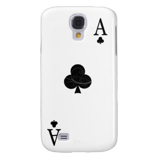iPhone 3G Case - Ace of Clubs Playing Card Samsung Galaxy S4 Covers
