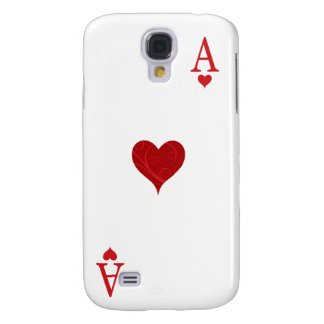 iPhone 3G Case - Ace of Hearts Playing Card Samsung Galaxy S4 Cover