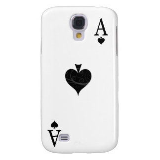 iPhone 3G Case - Ace of Spades Playing Card Galaxy S4 Case