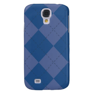 iPhone 3G Case - Argyle Squares - Blueberry Samsung Galaxy S4 Covers