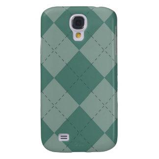 iPhone 3G Case - Argyle Squares - Seafoam Samsung Galaxy S4 Covers