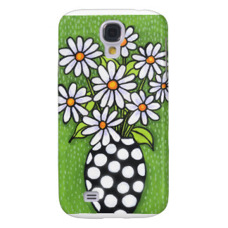 iPhone 3G case Green Daisies Galaxy S4 Covers