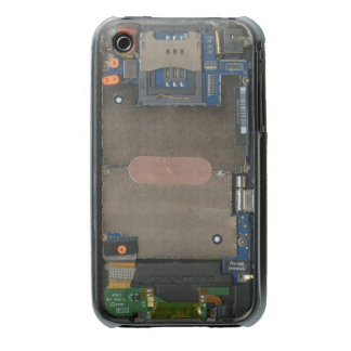 iPhone 3G case inside-out circuit board view Case-Mate iPhone 3 Case