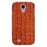 iPhone 3G Case - Jute - Rust Galaxy S4 Cover