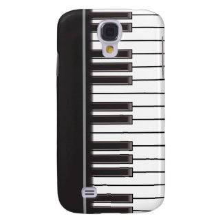 iPhone 3G Case - Piano Keys on Black