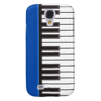 iPhone 3G Case - Piano Keys on Blue