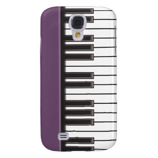 iPhone 3G Case - Piano Keys on Eggplant