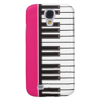 iPhone 3G Case - Piano Keys on Fuschia