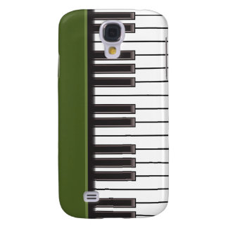 iPhone 3G Case - Piano Keys on Green
