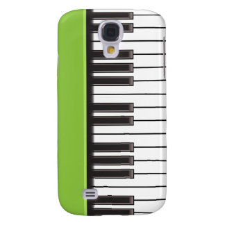 iPhone 3G Case - Piano Keys on Lime