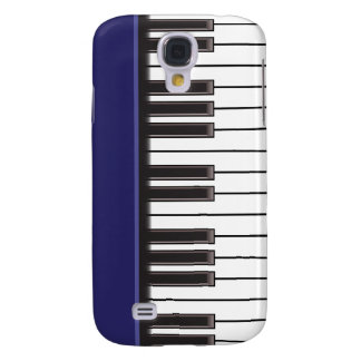 iPhone 3G Case - Piano Keys on Navy