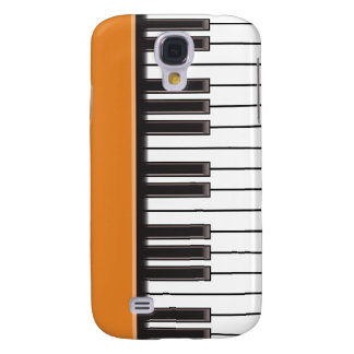 iPhone 3G Case - Piano Keys on Pumpkin