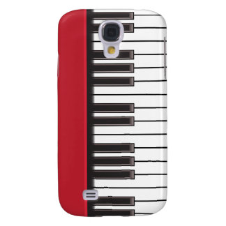 iPhone 3G Case - Piano Keys on Red