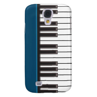iPhone 3G Case - Piano Keys on Teal Galaxy S4 Covers