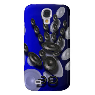 iphone 3G case Sound Identity Blue Samsung Galaxy S4 Covers