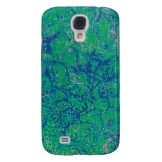 iPhone 3G Case - Swamp - Green/Blue Galaxy S4 Cover