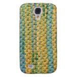 iPhone 3G Case - Weave - LemonLimeSlushy Galaxy S4 Cover