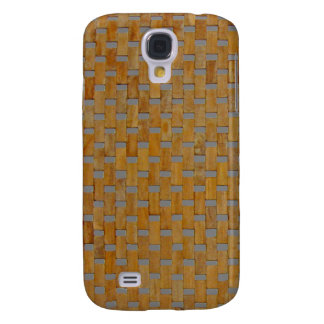 iPhone 3G Case - Woods - Blocks on Silver Samsung Galaxy S4 Cover