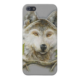 iPhone 3G Cases wolf face painting Covers For iPhone 5
