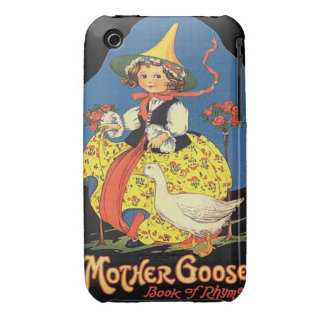 iPhone 3G/GS -Vintage Mother Goose Rhymes illus iPhone 3 Case-Mate Case
