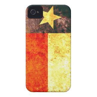 iPhone 4/4S apenas There™ de la bandera de Tejas iPhone 4 Cárcasa
