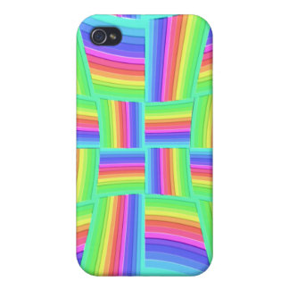 iPhone 4 4S arco iris Tilez de Speck® iPhone 4 Cobertura