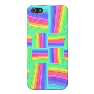 iPhone 4 4S arco iris Tilez de Speck® iPhone 5 Cárcasa