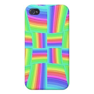 iPhone 4 4S arco iris Tilez de Speck® iPhone 4 Carcasas