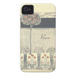 iPhone 4/4S Barely There del árbol y del jardín iPhone 4 Carcasas