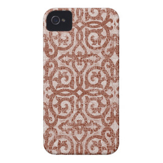 iPhone 4/4S Barely There del escudo del mosaico iPhone 4 Case-Mate Cárcasas