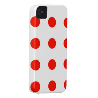 iPhone 4/4S Case Girly Red Wheels