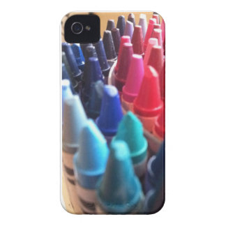 iPhone 4/4S Case in crayons