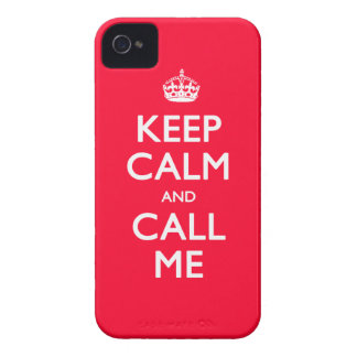 iPhone 4/4S Case-Mate Keep Calm and Call Me iPhone 4 Case