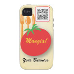 iPhone 4/4s Case Template Casual Dining Italian