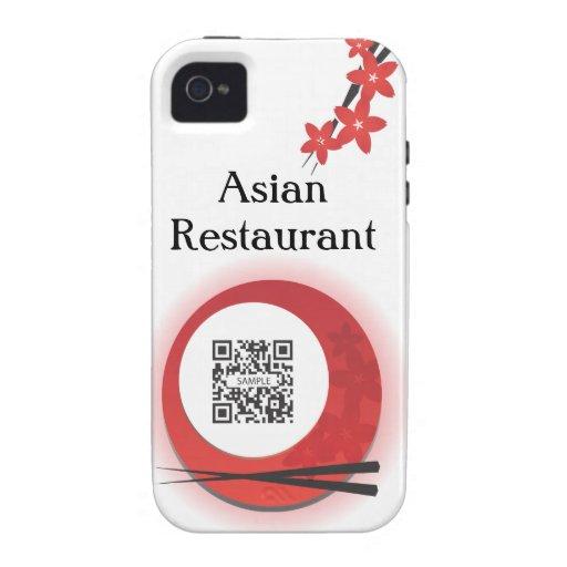iPhone 4/4s Case Template Japanese Restaurant