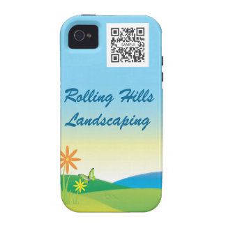 iPhone 4/4s Case Template Landscaping