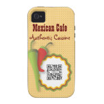 iPhone 4/4s Case Template Mexican Food