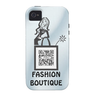 iPhone 4/4s Case Template Shop Girl