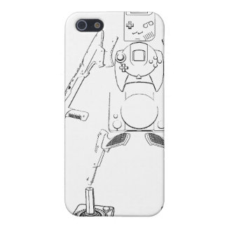 iphone 4 /4s case white and black old gamer covers for iPhone 5